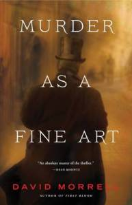 Murder as a fine art book cover