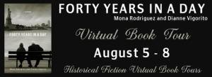 forty years in  a day tour banner