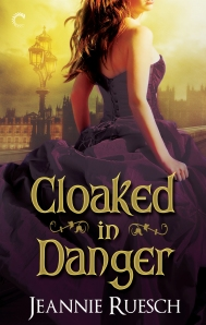 Cloaked in Danger book cover