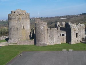 Pembroke castle one