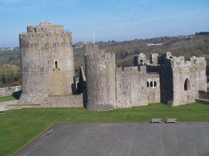 Pembroke castle one