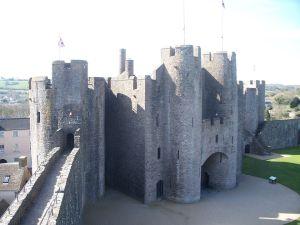 Pembroke castle two