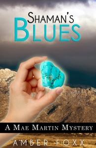 Shamans blue by Amber Foxx
