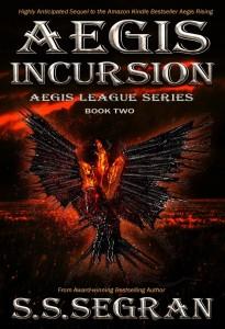 Aegis incursion book cover