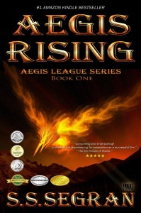Aegis Rising book cover two
