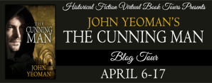 The Cunning Man Blog Tour Banner