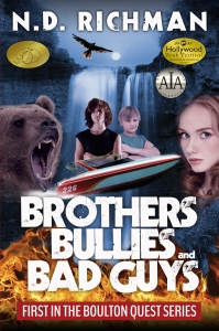 Brother, Bullies and Bad Guys Kindle AIA BRAGG