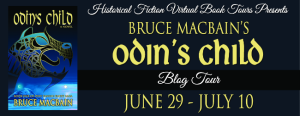 Odin's Child Blog tour banner