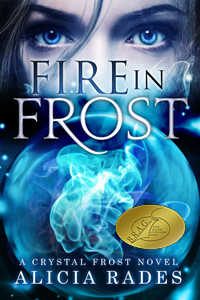 FIRE-IN-FROST Alicia Rades book BRAG