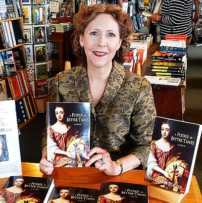 Margaret Porter with book