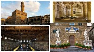 Palazzo della Signoria collage