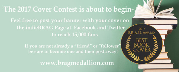 indieBRAG 2017 Cover Contest for BLOG
