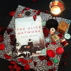 The Alice Network Book Art