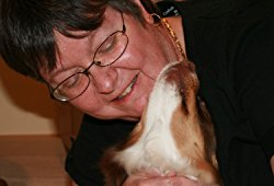 Janet Stafford with dog