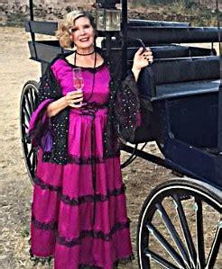 Rebecca at carriage