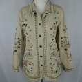 Denim & Co.100% Cotton Embroidered Jacket