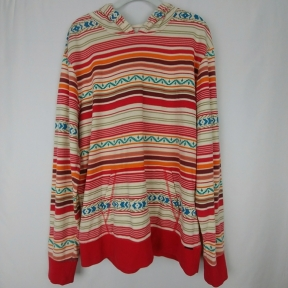 On The Byas Aztec Hoodie