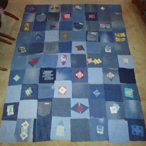 Rag Denim Quilt Squares