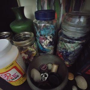 Art Supply Jars