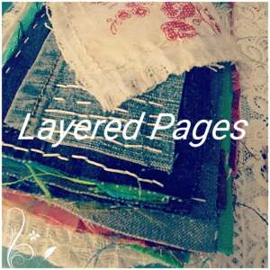 Layered Pages Journal Banner