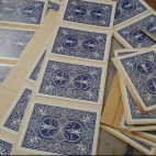 Feb prepping playing card tags