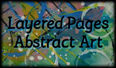 A Layered Pages Abstract Art